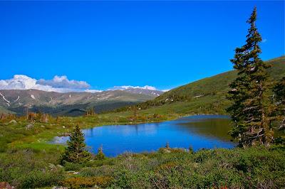 Hoosier Pass Loop Lake on West Hoosier Pass