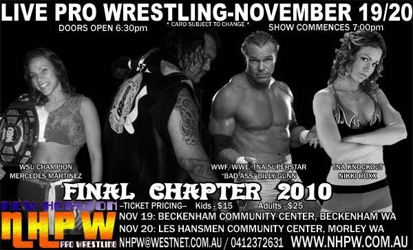 Westside Pro Wrestling November 2010