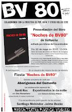 """cartel de presentación """"NOCHES DE BV80"""""""