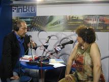 Intervista Radio InBlu alla Fiera Internazionale del Libro diTorino 2007
