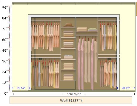 I made a plan for a DIY closet organizer: you canu0027t live with your clothes  in a suitcase or