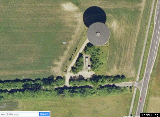 google circles. circle AND a UFO! Google
