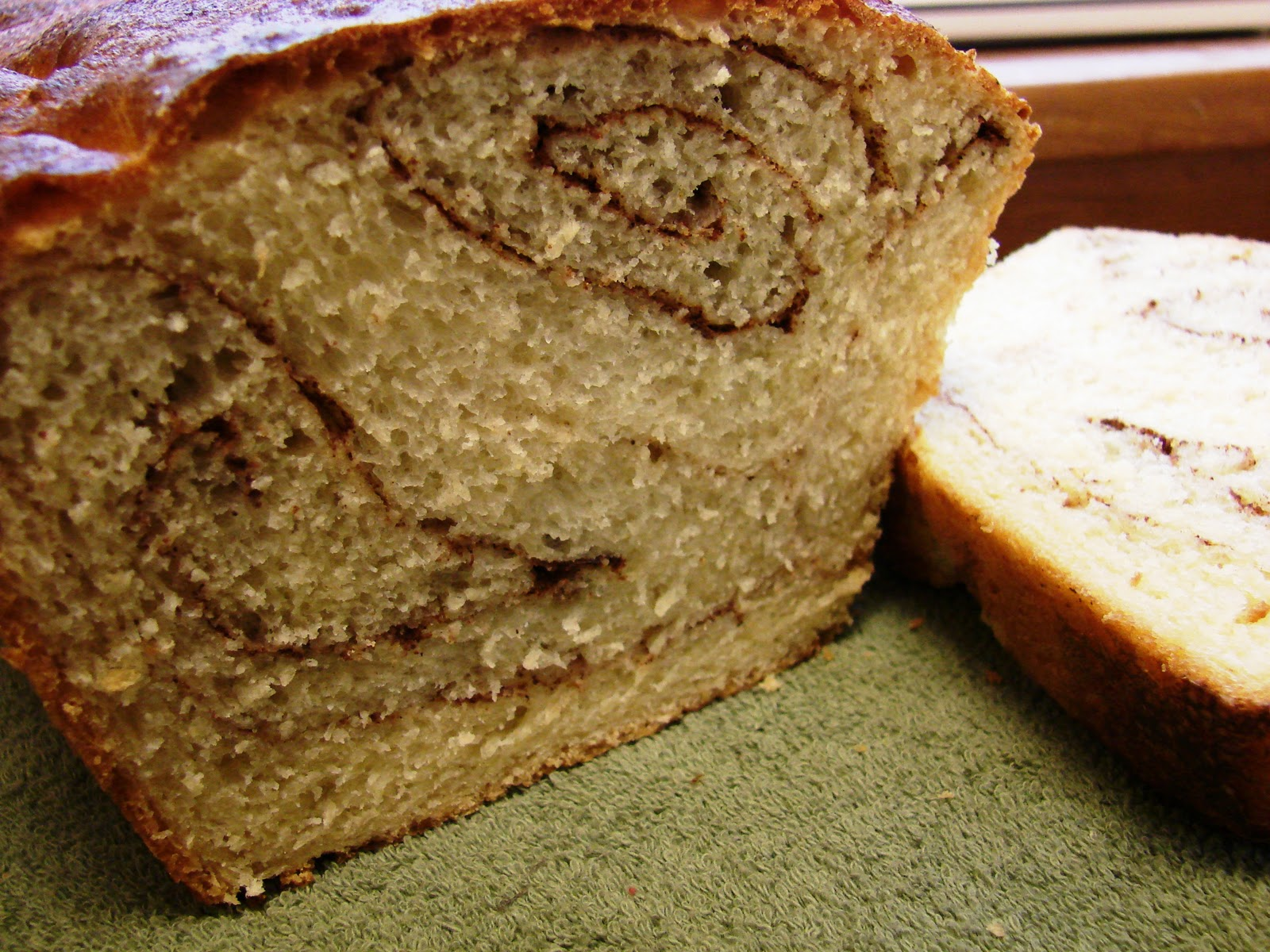 Cinnamon Swirl Bread Source: Adapted from Pioneer Woman