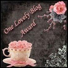 Winner of One Lovely Blog Award!
