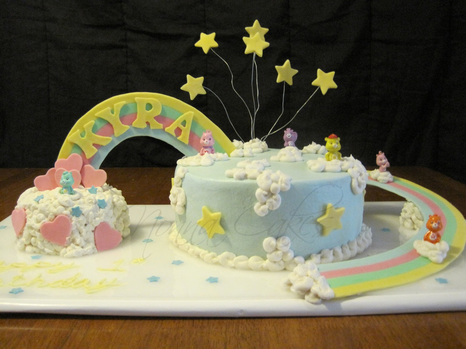 Nonna Cakes Care Bears 1st Birthday Cake