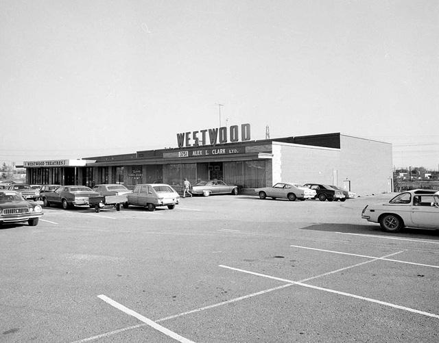 Westwood Theatres Etobicoke Toronto 1974