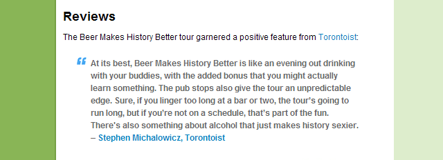 Beer Makes History Better Groupon