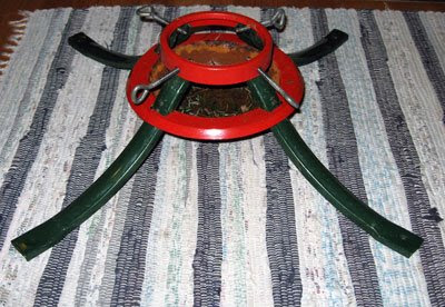 Rusty Christmas Tree Stand