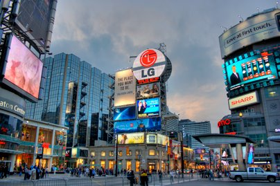Yonge and Dundas Square 2008