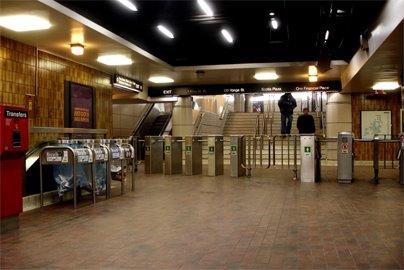 TTC King Subway Station