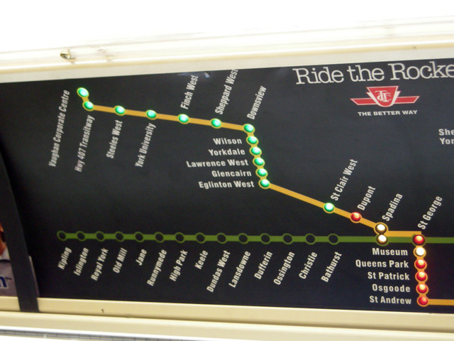 TTC Prototype Map