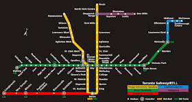 TTC Lakeshore Local Map