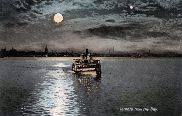 Postcard Toronto From the bay 1907