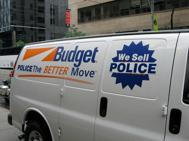 G20 Toronto Budget Van
