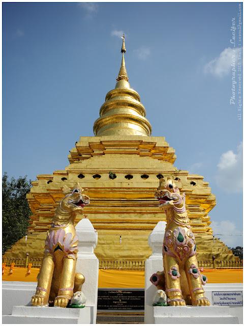 Photograph Chedi wat chiangmai Thailand