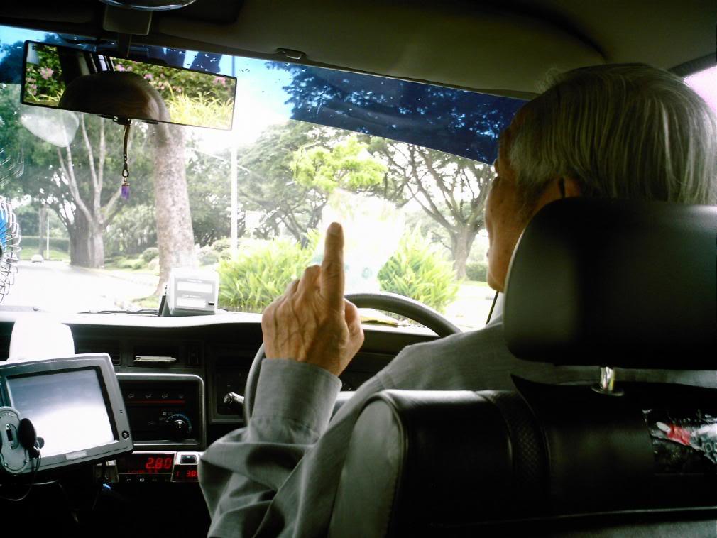 Supir taksi di Singapore, sumber informasi menarik