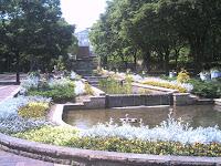 アプローチ,西洋式庭園