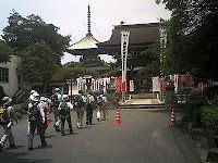竜泉寺・本殿と多宝塔