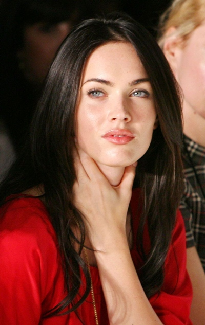 megan fox fashion model