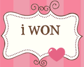 I won the bday blog hop!!!