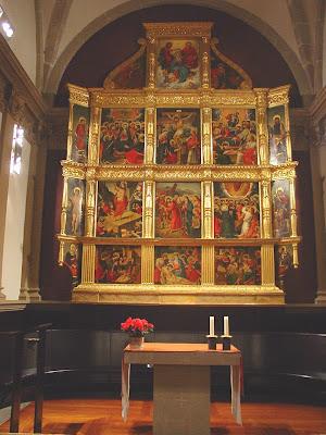 Retaule de l'altar del Santíssim