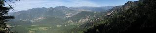 Panoràmica des de el Serrat de Picamill