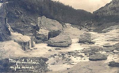 Font de la Falzia vers 1920