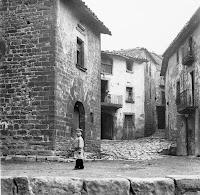 El carrer Fosc cap el 1912