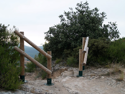 Entrada al camí de Cal Sastre de Puig-reig