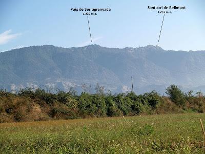 La Serra de Bellmunt des de Sant Vicenç de Torelló