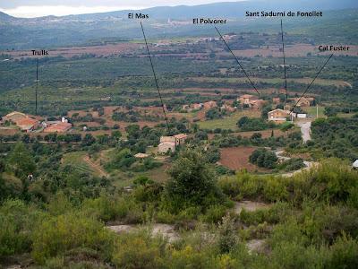Vistes des del Serrat de la Madrona