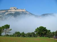 El Castell de Centelles des de Comabessona