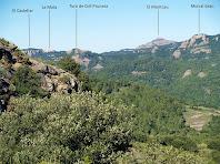 Vistes del Moncau pujant al Puig Codina