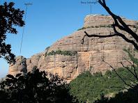 La Roca Salvatge des de la Canal del Llop