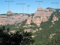 La Roca Salvatge i el Paller de Tpt l'Any tot anant cap el Turó Roig