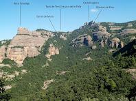 La Roca Salvatge tot annat cap al Turó Roig