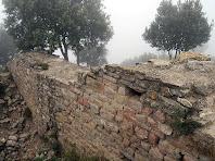 Murs del Castell de Voltregà. Autor: Carlos Albacete