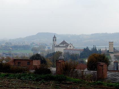 El Santuari de la Gleva des de la Granja del Ferran. Autor: Carlos Albacete