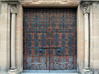 Porta lateral de Sant Esteve de Parets. Autor: Carlos Albacete