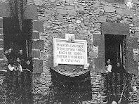 Placa en homenatge a en Bac de Roda. Any 1919. Autor: Arxiu Municipal de Les Masies de Roda