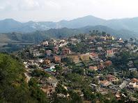 La Urbanització de Can Güell vista des del Serrat de Can Güell