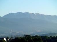El Montseny vist des de l'alçada de Can Genes