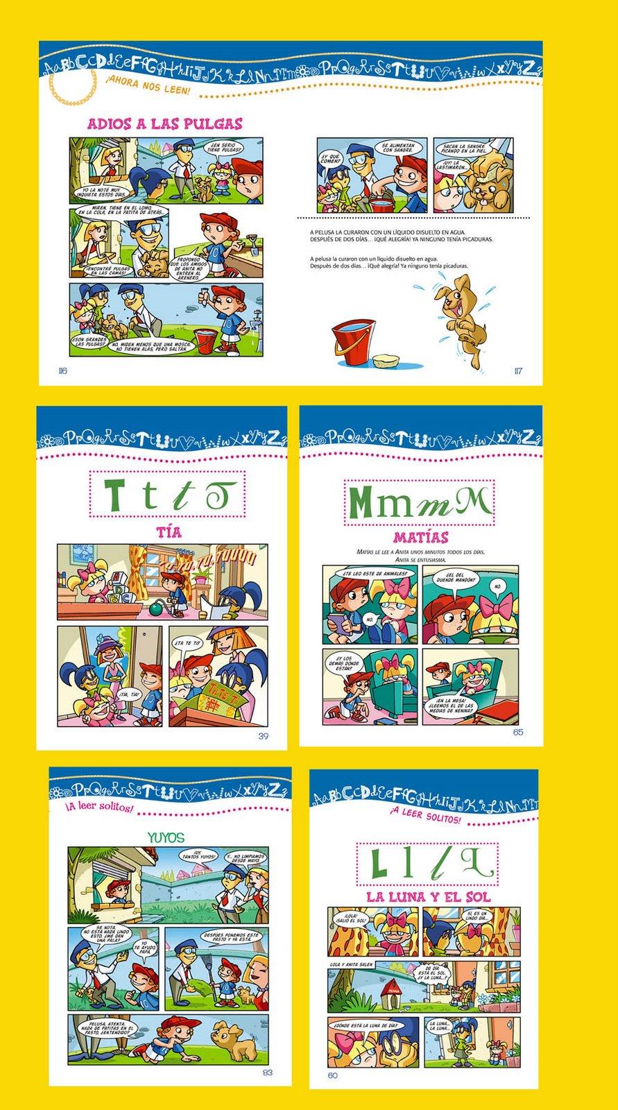 historietas para manuales educativos. (publicado)