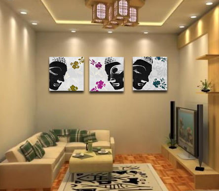 Buddhist home decor dream house experience for Art decoration for home