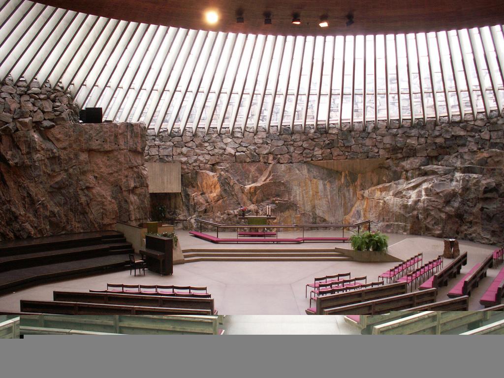 Temppeliaukio Kirkko-Helsinki