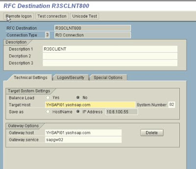 sap abap online magazine edi configuration create rfc destination