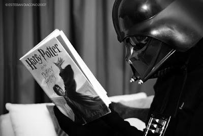 Darth Vader também curte um bruxão!