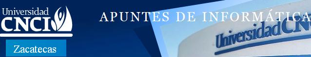 APUNTES DE INFORMÁTICA
