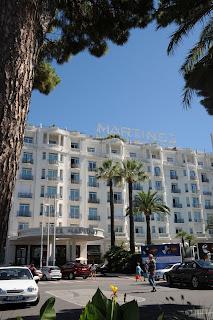 Hotel Martinez exterior, Cannes