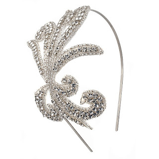 Annalise headpiece, Rock 'n Rose